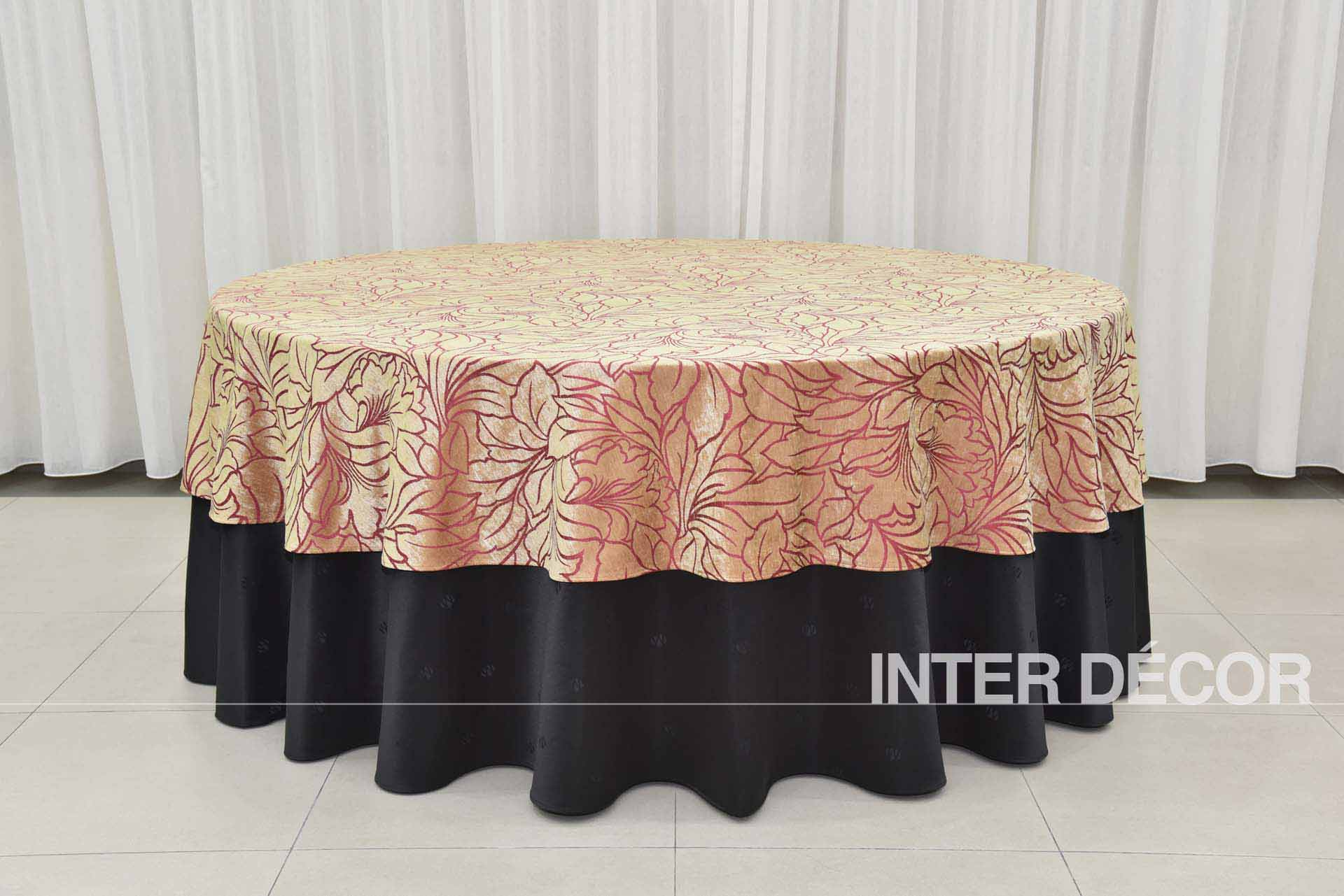 Table Cloth Tiebacks, Napkins, Conference/Oblong Table Cover & Cocktail Table Cover, Table/Stage Skirtings supplier malaysia