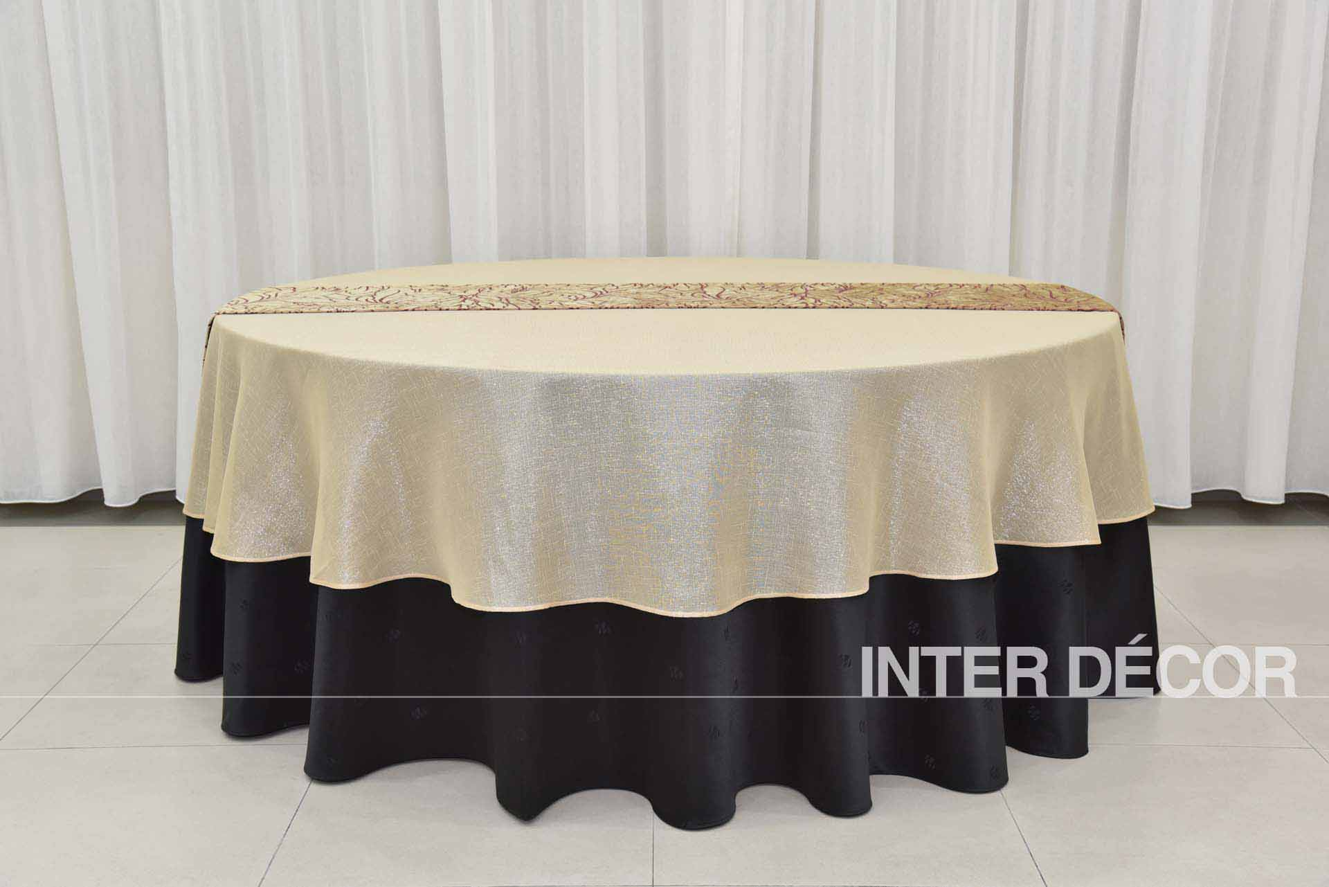 Table Cloth With Runner malaysia, Tiebacks, Napkins, Conference/Oblong Table Cover & Cocktail Table Cover, Table/Stage Skirtings
